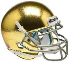 NOTRE DAME FIGHTING IRISH NCAA Schutt Authentic MINI Football Helmet (HYDROFX)