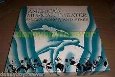 American Music Theater Shows Songs & Stars Smithsonian NM 4 CD Set + 132 pg book