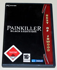 PAINKILLER BLACK EDITION - INKLUSIVE EXPANSION BATTLE OUT OF HELL & MAKING OF