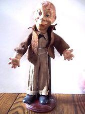 """Vintage Ideal Mortimer Snerd Doll 13"""""""