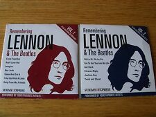 Lennon & The Beatles  vols 1 & 2 cd's promo