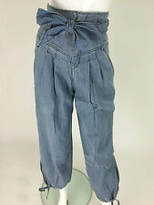 Miss Sixty New Women's Joy Jeans Size W27 Color Sky Blue Made in Italy