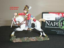 KING AND COUNTRY NA90 BRITISH SCOTS GREY CHARGING WITH SWORD MOUNTED TOY SOLDIER