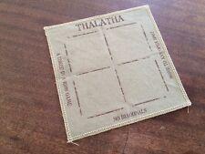 "Thalatha Cloth Coaster Table Boardgame (3-in-a-row) ""Tic-tac-toe cousin"""