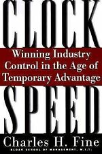 Clockspeed: Winning Industry Control In The Age Of Temporary Advantage Hardcov..