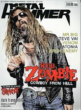 Metal Hammer.Bob Zombie,Dark Tranquillity,Steve Vai,Slipkonot,Venom,Katatonia,ii