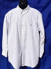 "POLO RALF LAUREN 'Classic Fit' Button Down Oxford Shirt Large Size 48"" Chest"