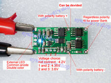 MAX1879 4.35V 4.2V 3.6V Lithium Battery Charging Board Auto Polarity Recognition