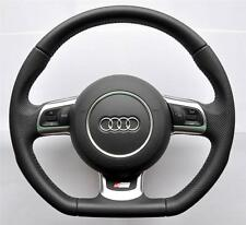 AUDI S Line A3/A4/A5/A6/TT/Q5/Q7 Flat Bottom Multifunction steering wheel_airbag