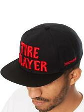 Hoonigan Black Tire Slayer Snapback Cap