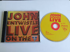 John Entwistle - Greatest Hits Live (Live Recording, 1998) CD - MINT