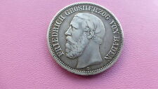 German silver 2 mark coin 1892 Friedrich 1  very rare 107.000 minted   Ref 497