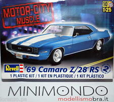 KIT 1969 CAMARO Z/28 RS 1/25 REVELL MONOGRAM 7457 07457