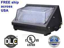 60W LED Wall Pack outdoor Light Fixture, ,cUL, UL, DLC approved, 5yrs warranty