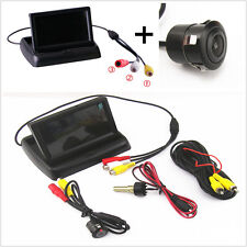 "4.3"" TFT LCD Color Screen +CCD 18.5mm Reverse Backup Parking Night Vision Camera"