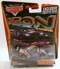 MAX SCHNELL NEON RACERS EXCLUSIVE METALLIC DECO DISNEY PIXAR CARS DIECAST