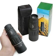 16x52 Optics Zoom Lens Night Vision Camping Hiking Hunting Monocular Telescope