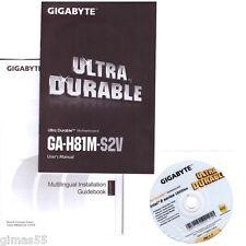 DRIVER DVD + MANUALE GIGABYTE GA-H81M-S2V