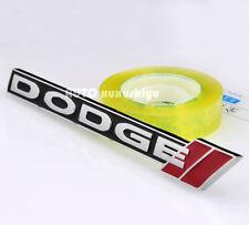 3D Auto Metall Fenders Schriftzug Aufkleber Emblem Plakette für Dodge sport NEW