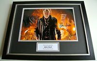 John Hurt  SIGNED FRAMED Photo Autograph 16x12 display Doctor Dr Who TV & COA