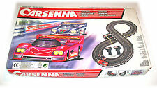 CARSENNA Road Race Set - Battery Operated - 1980s - 1:43 - MPN 8888