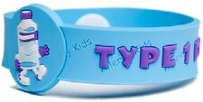 MEDICAL ALERT WRISTBAND/BRACELET FOR TYPE 1  DIABETICS/ DIABETES