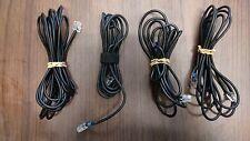 (LOT OF 4) Polycom SoundStation/SoundStation2/VTX1000 External Microphone Cords