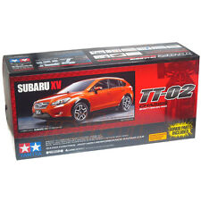 Tamiya 1:10 TT02 Subaru XV w/ESC On Road EP RC Touring Car Kit #58567