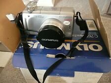 Olympus CAMEDIA C-765 Ultra Zoom 4.0 MP Digital Camera - Silver