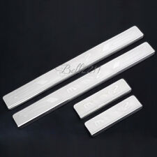 For Mazda 2 2008-2011 High Quality Stainless Steel Door Sill Scuff Plate