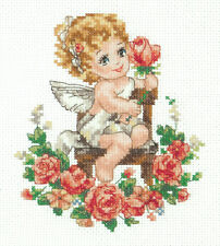 Cross Stitch Kit Angel