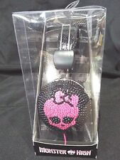 Sakar Monster High Skull Bling Headphones NEW - Get Ready For School