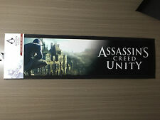 BNWT Official Assassins Creed Unity Genuine Merchandise Rubber Bar Runner Mat