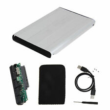 "New 2.5"" Inch USB 2.0 SATA Enclosure External Case for Notebook Laptop Hard Disk"