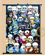 Anime Undertale Sans/Papyrus Home Decor Poster Wall Scroll 40*55cm#H107