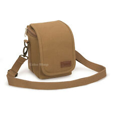 Shoulder Canvas Camera Case Bag for Panasonic LUMIX DMC GM1 GX1 GX7 GH3 GH4 LZ40