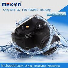 Underwater Waterproof  Housing Camera Case for Sony NEX-5N 18-55mm Lens Camera