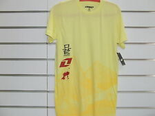 ONE INDUSTRIES TEE SHIRT T-SHIRT SIZE SMALL YELLOW