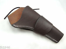 BROWN LEATHER M1873 Revolver Holster John Wayne Style RH Only No Belt