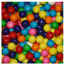 Dubble Bubble ASSORTED Small 13mm Gumballs Bulk 1 Pound  Approx. 375 Gum Balls