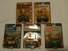 Lot of 5 Racing Champions Field & Stream & Outdoor Life Diecast Collectible Cars
