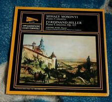 MIHALY MOSONYI FERDINAND HILLER PIANO CONCERTOS CANDIDE  QCE 31090 JEROME ROSE