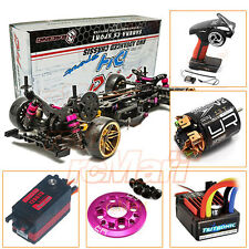 3Racing Sakura D4 AWD 1:10 Drift Car Kit Servo ESC 13T Motor Radio Combo #CB0880