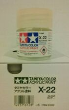 Tamiya acrylic paint X-22 Clear. 23ml.