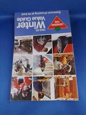 CANADIAN TIRE CATALOG WINTER VALUE GUIDE 1982-83 HOCKEY EQUIPMENT RIFLES TOOLS