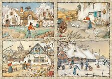NEW! Jumbo 4 Seasons by Anton Pieck 1000 piece nostalgic jigsaw puzzle