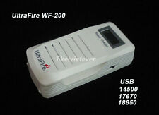 Ultrafire WF-200 Charger USB 14500 17670 18650 Battery