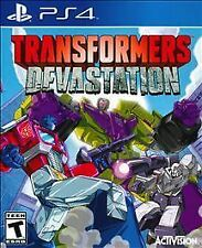 PS4 Transformers Devastation NEW Sealed Region Free USA Plays on all consoles