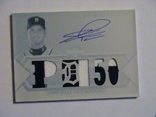 2012 Topps Triple Threads Jacob Turner Detroit Tigers Relic Auto 1/1 Redemption
