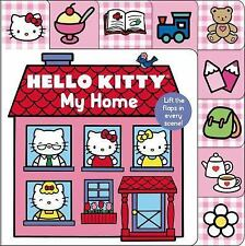 Hello Kitty: My Home Lift-the-Flap Tab (Lift-the-Flap Tab Books)-ExLibrary